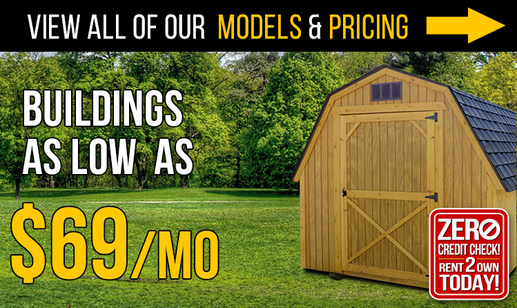 sale barn wildcat mini pole playsets storage amish shed or super cabins a metal buildings low own garages for barns sheds log cache looking best cash payment in pa to deal the on rent