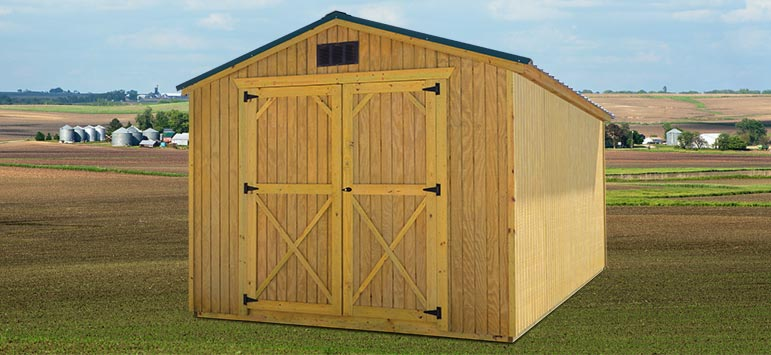 Utility Sheds Backyard Outfitters