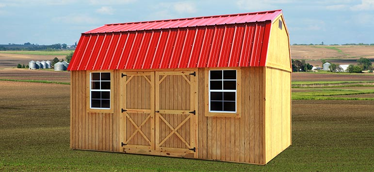 Lofted Barn Cabin Lofted Barns Backyard Outfitters