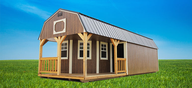 Cabin Sheds Lofted Cabins Backyard Outfitters Inc