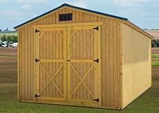 prefab utility shed