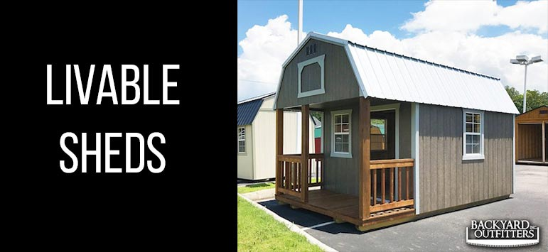 Portable Garages For Sale >> The Barn Blog | Backyard Outfitters